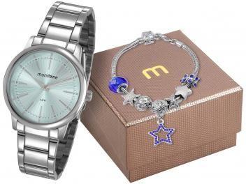 cf2e918d6c0 magazinelojamaryrouse relógios e relojoaria Relógio Feminino Mondaine  Analógico – 53739L0MGNE4K com Pulseira(cód. magazineluiza.com 220562400)  Super ...