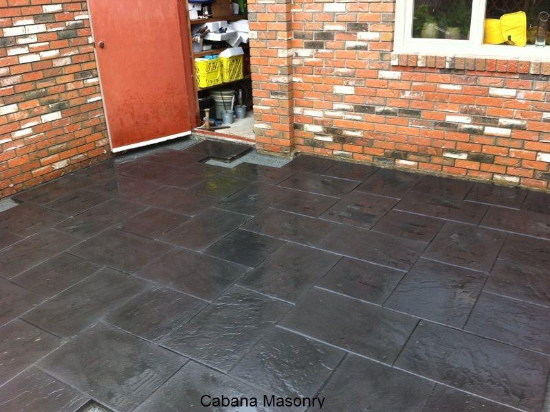 can i paint patio slabs deck ideas pinterest patio slabs