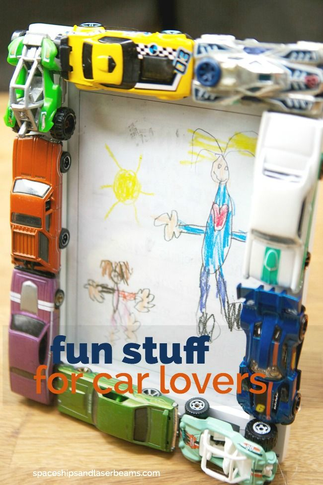 Easy DIY Car Picture Frame | Spaceships and Laser Beams | Pinterest