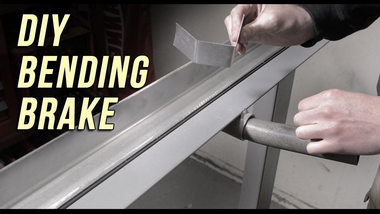 How To Make A Sheet Metal Bending Brake ในปี 2019
