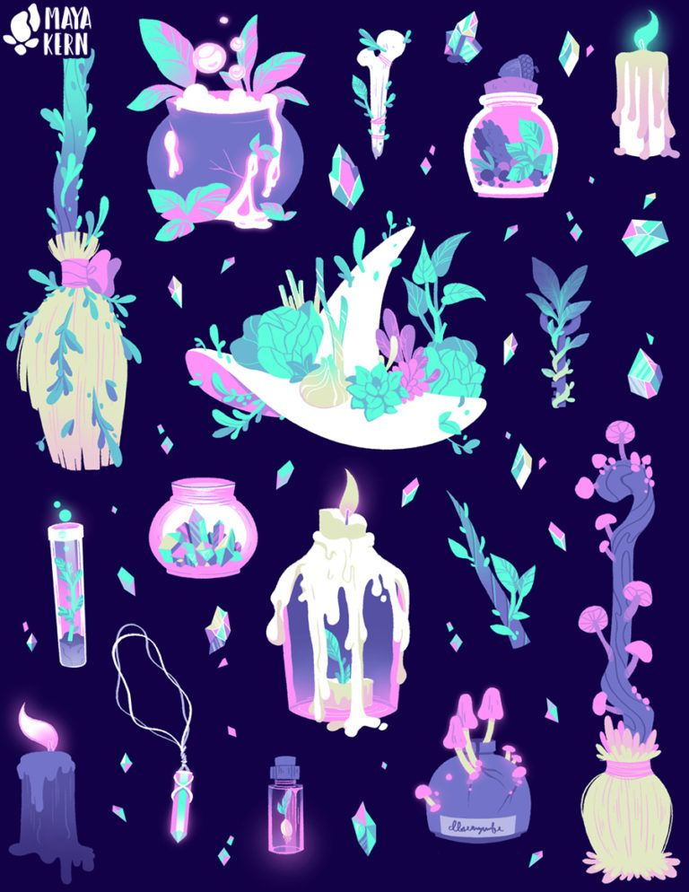 Green Witch Witchy Wallpaper Witch Art Cute Art