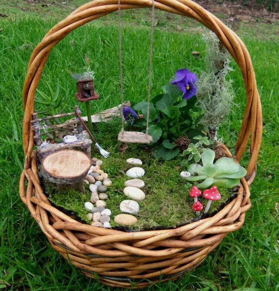 Pin by Alicia Powell on Fairy Garden   Pinterest   Gardens