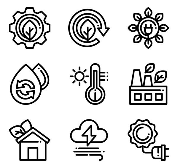 50 Free Vector Icons Of Renewable Energy Designed By Freepik Free Icon Packs Free Icon Set Renewable Energy