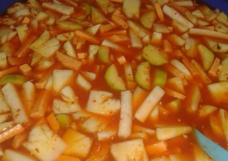 Resep Asinan Buah Khas Bogor Oleh Selvi Anggraeni Resep Resep Makanan Dan Minuman Ide Makanan