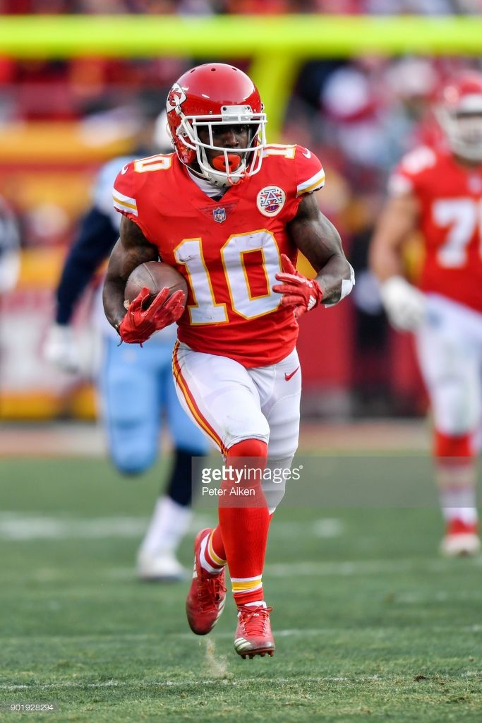 News Photo Wide receiver Tyreek Hill of the Kansas City