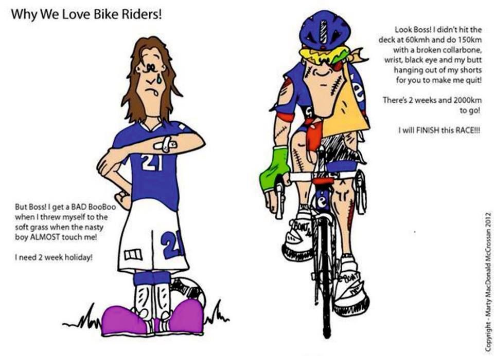 Footballers Vs Bikers Bike Rider I Want To Ride My Bicycle