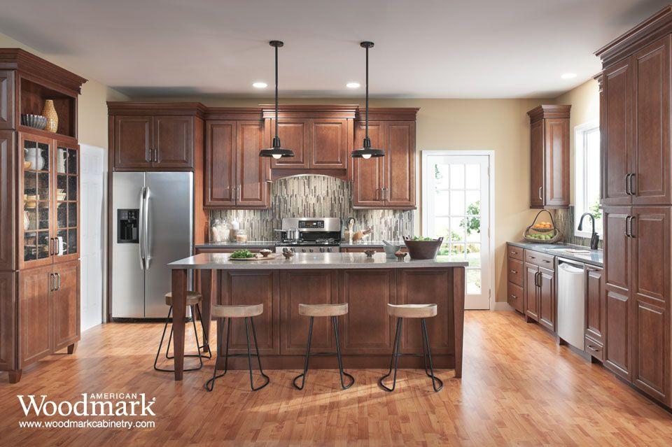 Well-known Charlottesville Cherry Spice Kitchen | Kitchen Remodel | Pinterest  NK56