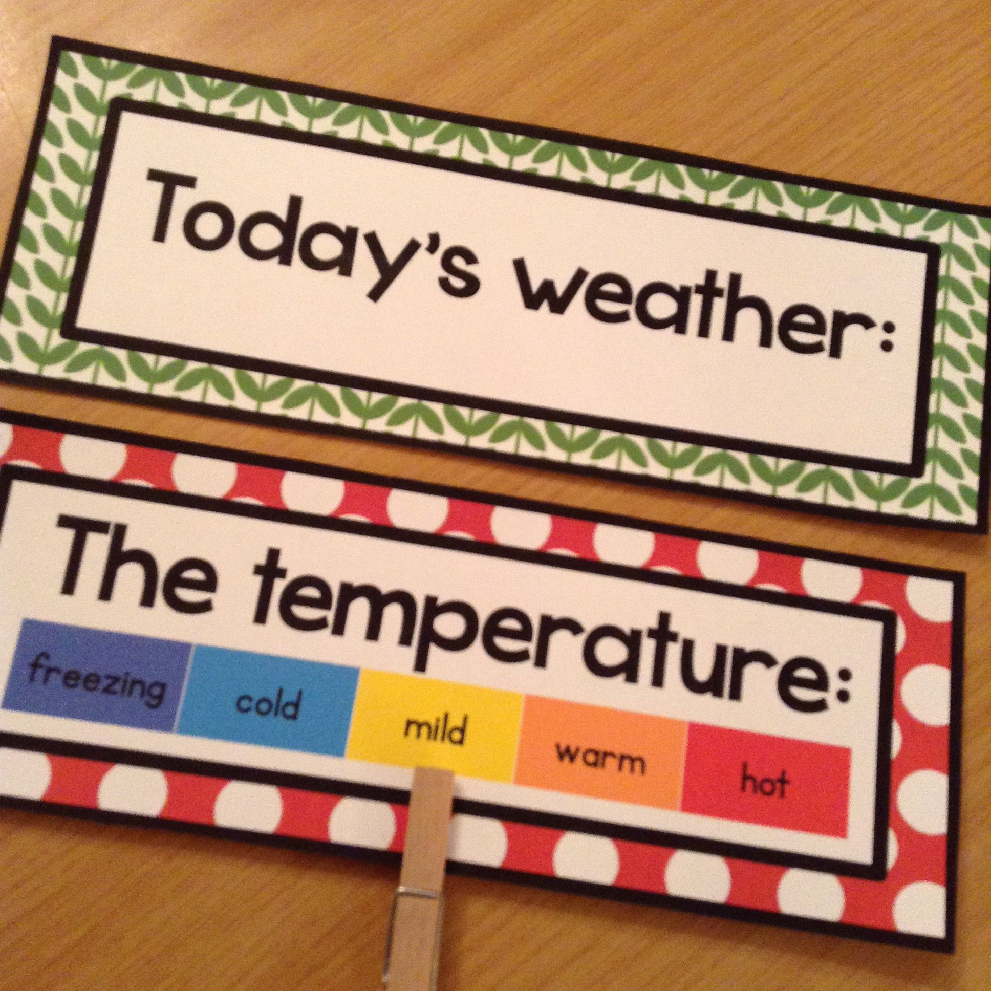 Retro calendar set $ | Todays weather, Freezing cold, Retro