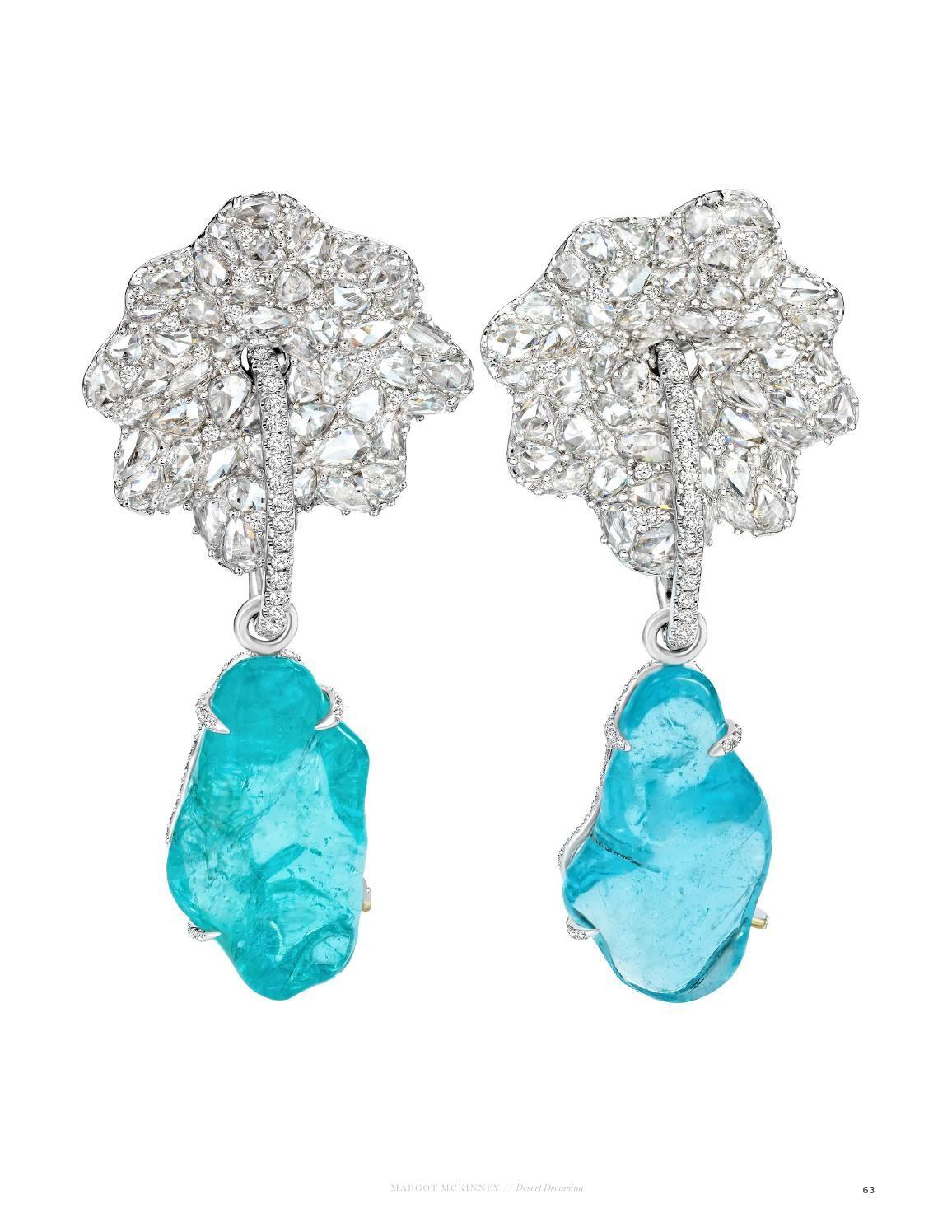 Margot McKinney Jewelry Weekend White Agate Earrings with Turquoise Studs 1zM1Adjs