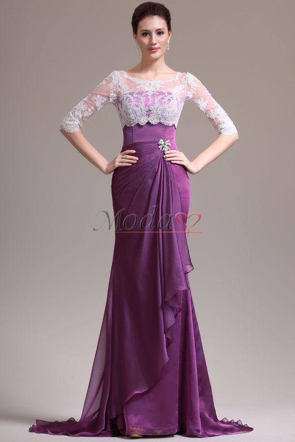 vestidos manga encaje - Buscar con Google | Alta costura | Pinterest ...