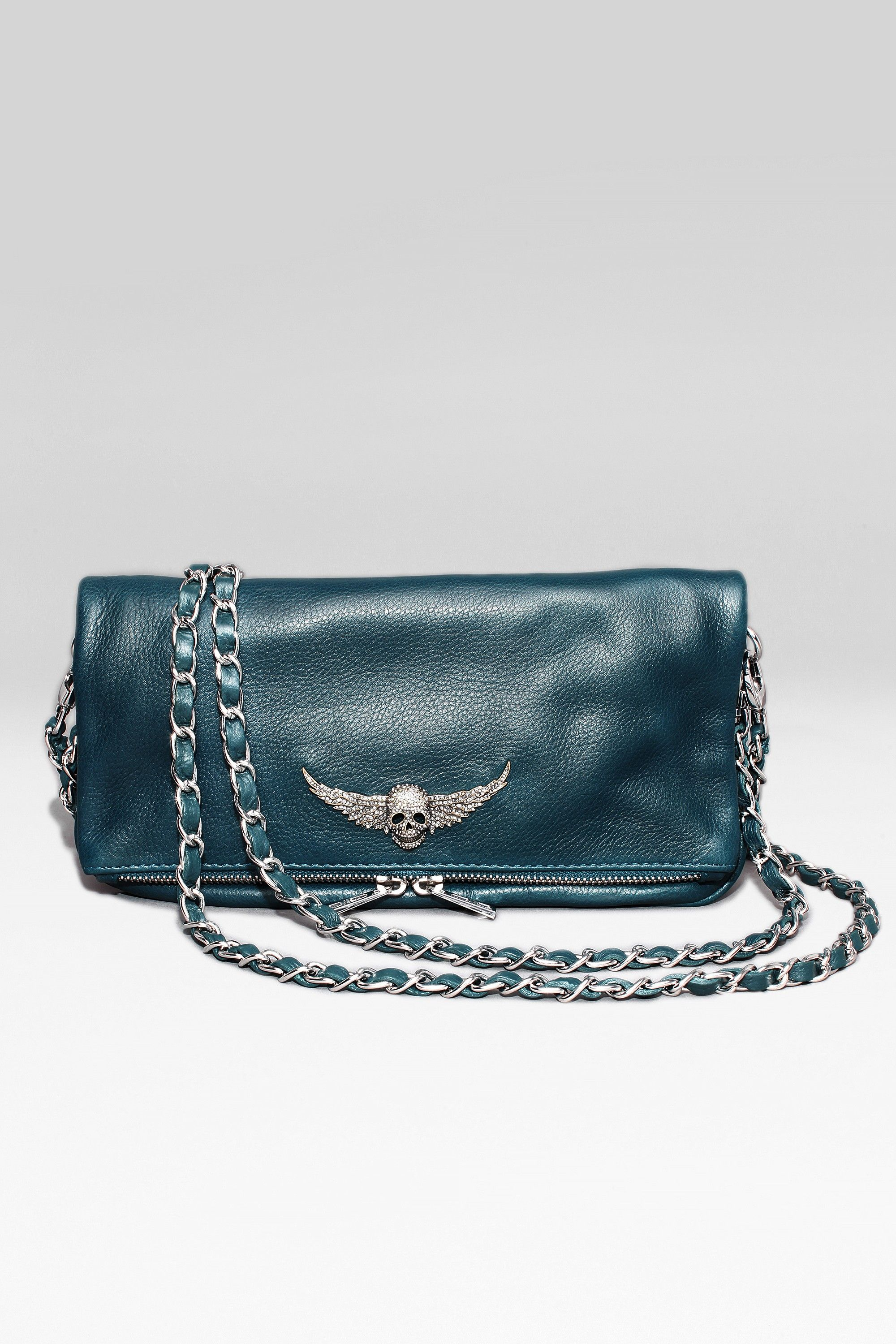 Rock Clutch Bags Leather Goodies Clutch