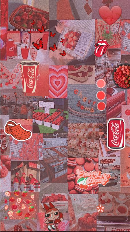 Soft Red Aesthetic Tumblr
