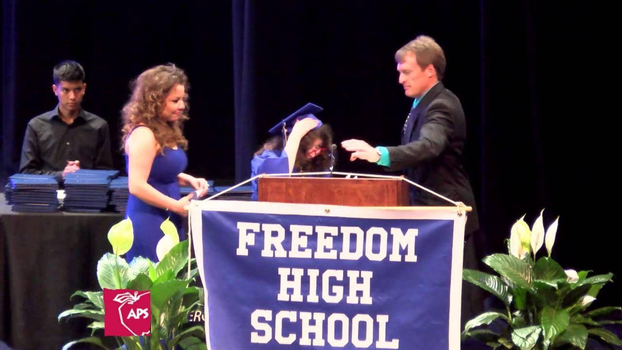 Freedom high school graduation ceremony 2015 high