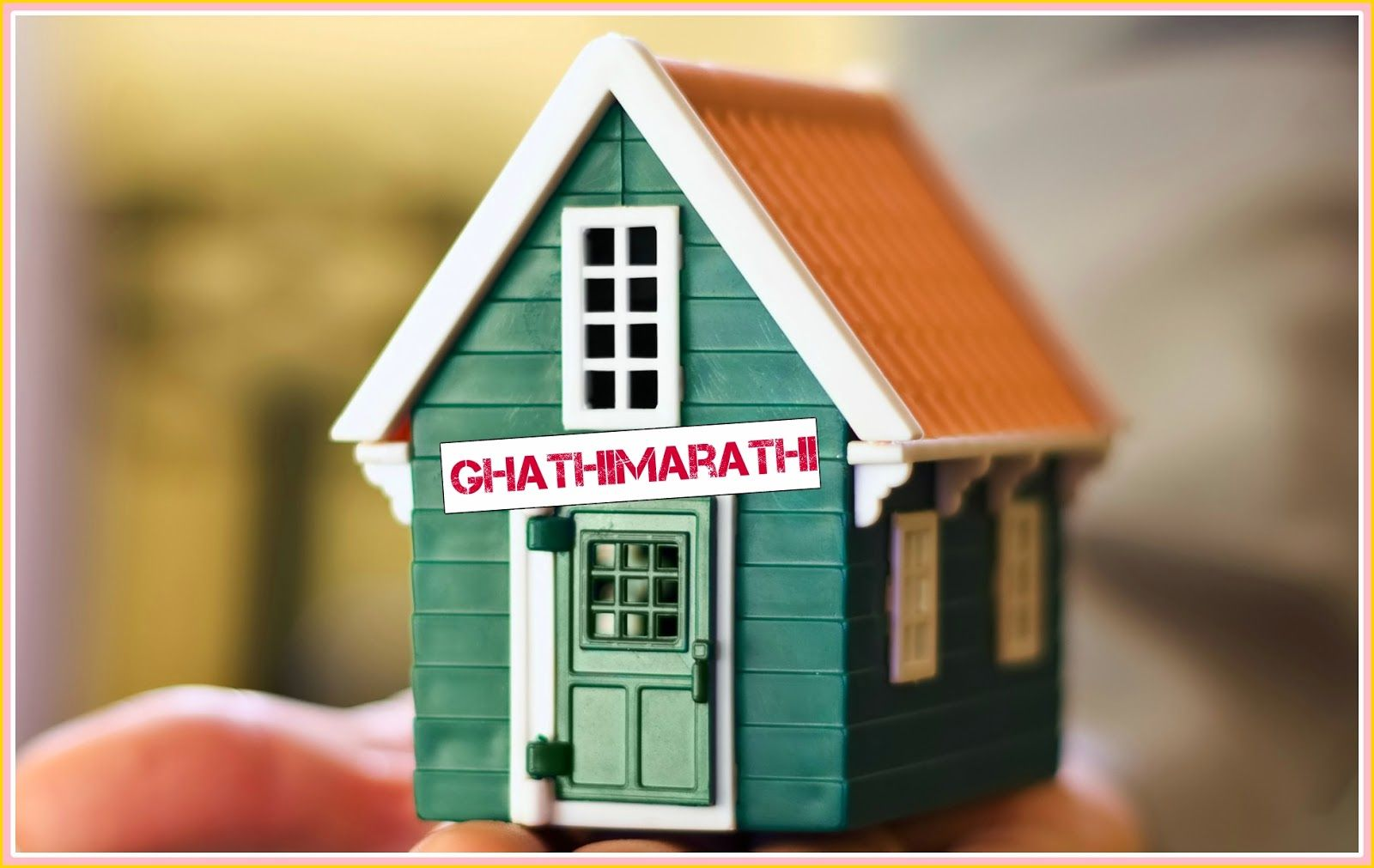 Names for sweet homes or ghar in marathi selling your
