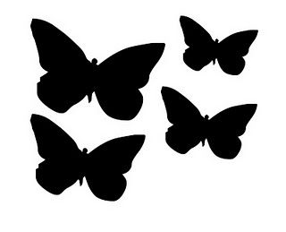 Butterfly Template  Bugs    Butterfly Template