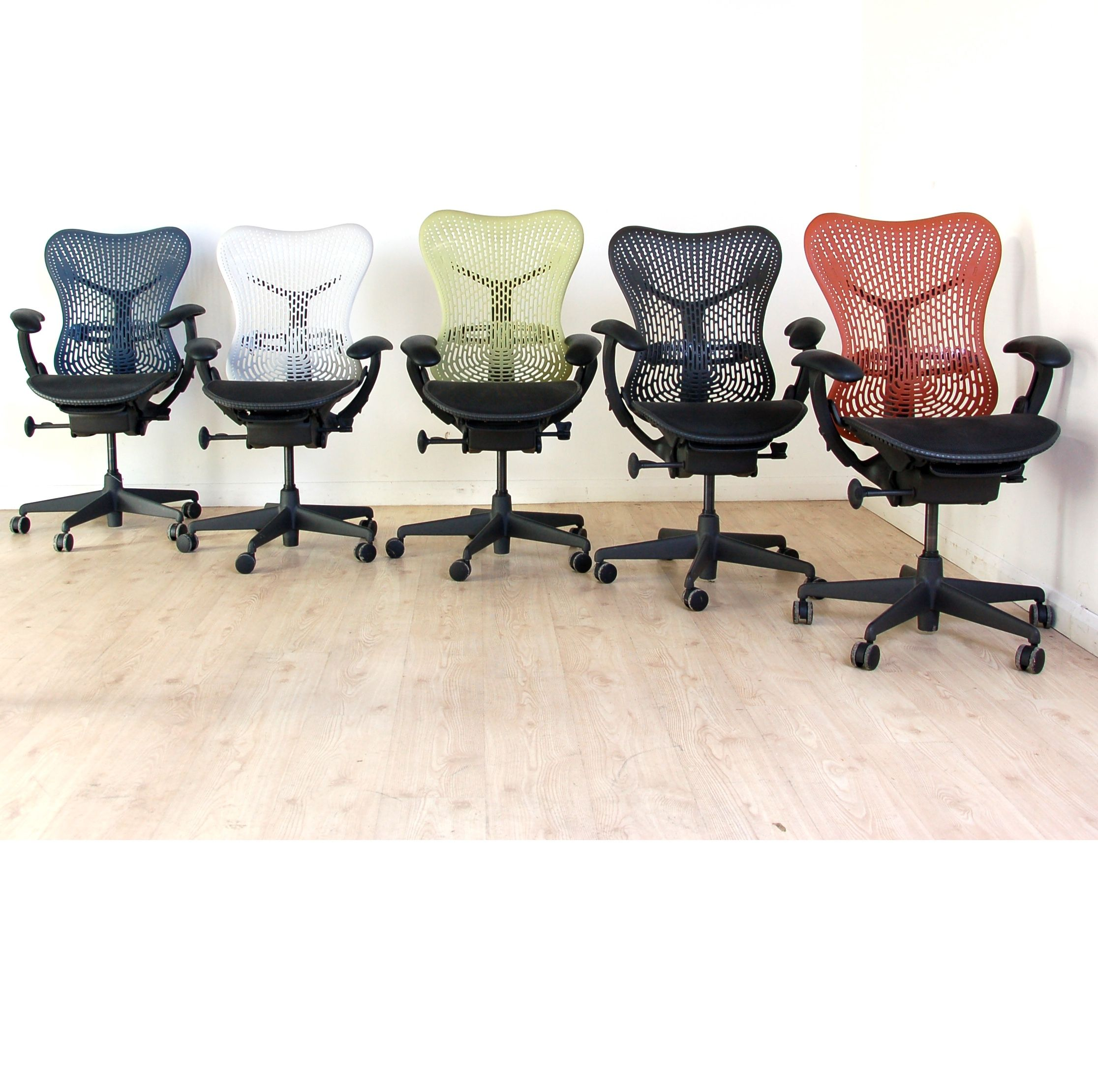 Used Herman Miller Mirra Chairs Available In A Wide Spectrum Of