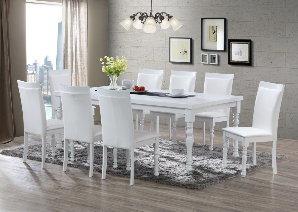 Pin By Juan Carlos On Muebles In 2019 White Dining Set White