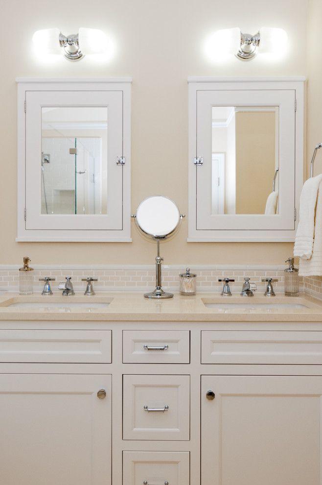 Bathroom Vanity Mirror Medicine Cabinet Traditional Bathroom