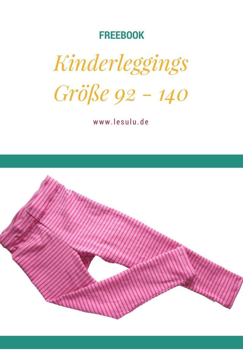 Kinderleggings Freebook | Nähen Yella | Pinterest | Nähen ...
