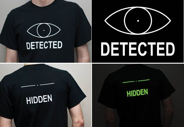 Level Up Your Sneak Skills Irl With This Glow In The Dark Shirt Geek Clothes Skyrim Geeky Fashion