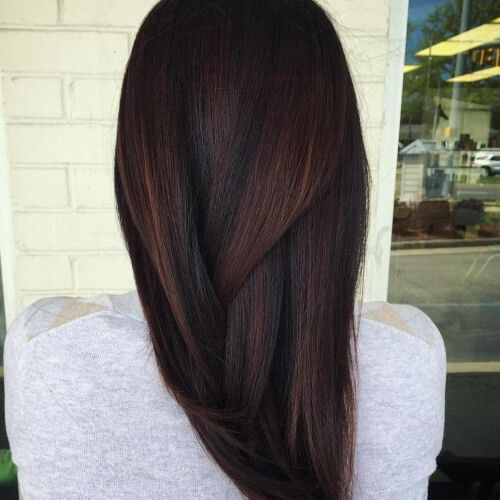 Brown Hair with Red Undertones