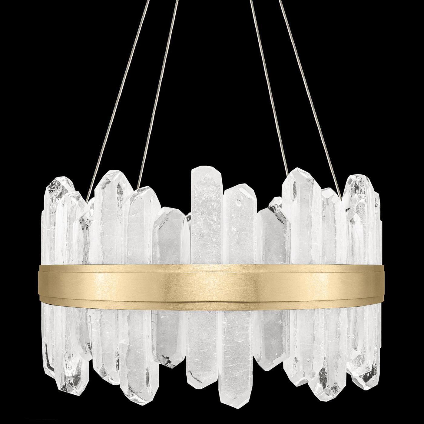 Lior short symmetrical crystals chandelier fine art lamps at lights arubaitofo Choice Image