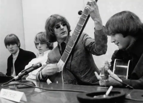 Image result for byrds sitar