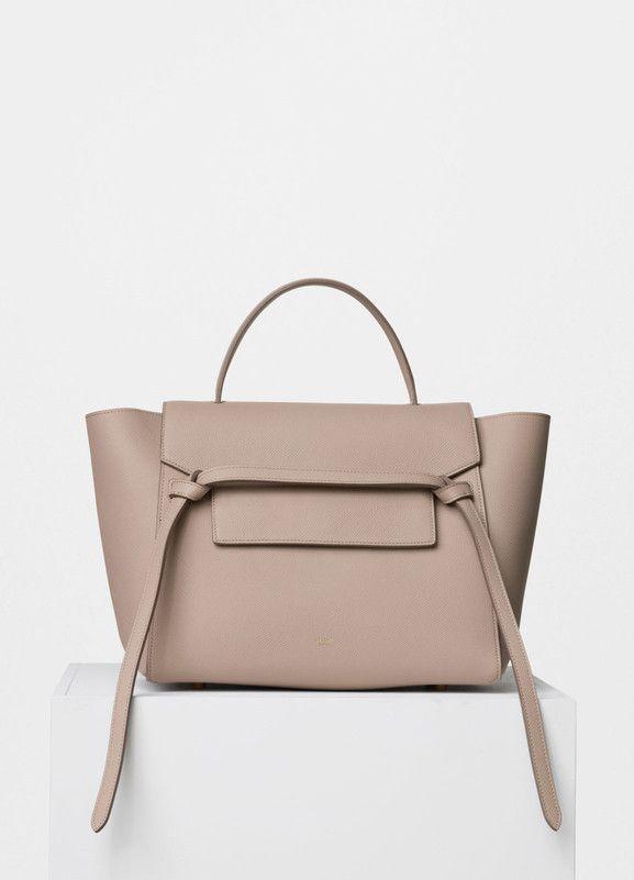 d4824c9979 Mini Belt Bag in Light Taupe Grained Calfskin - Céline