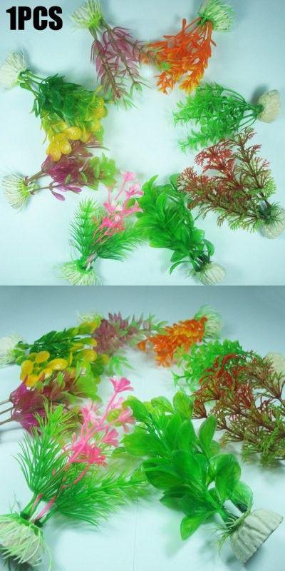 Plastic Aquatic Plant Fish Tank Decor