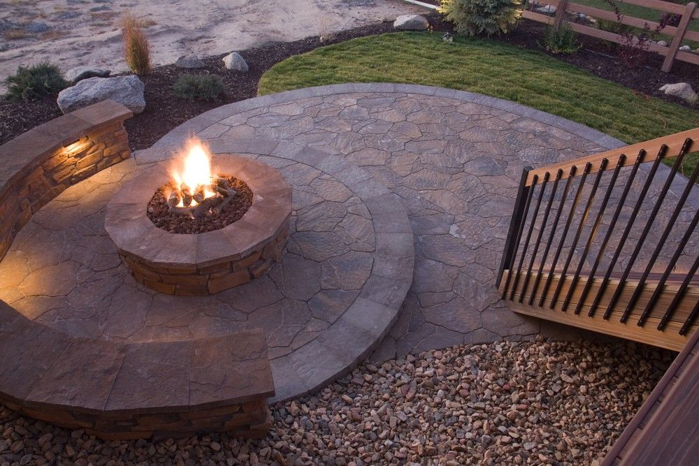 stamped concrete vancouver stamped concrete designs on best large backyard ideas with attractive fire pit on a budget id=59274