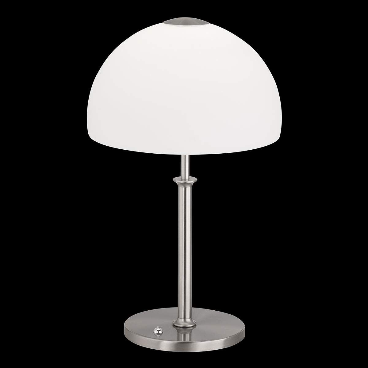 Dimmbare Led Tischleuchte Shine Mit Glasschirm Led Tischleuchte