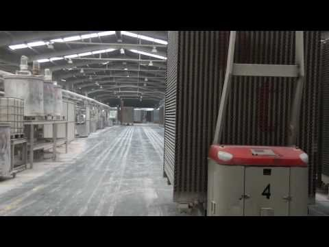 Ceramic tiles manufacturing process by Ceratec - How it\'s made ...
