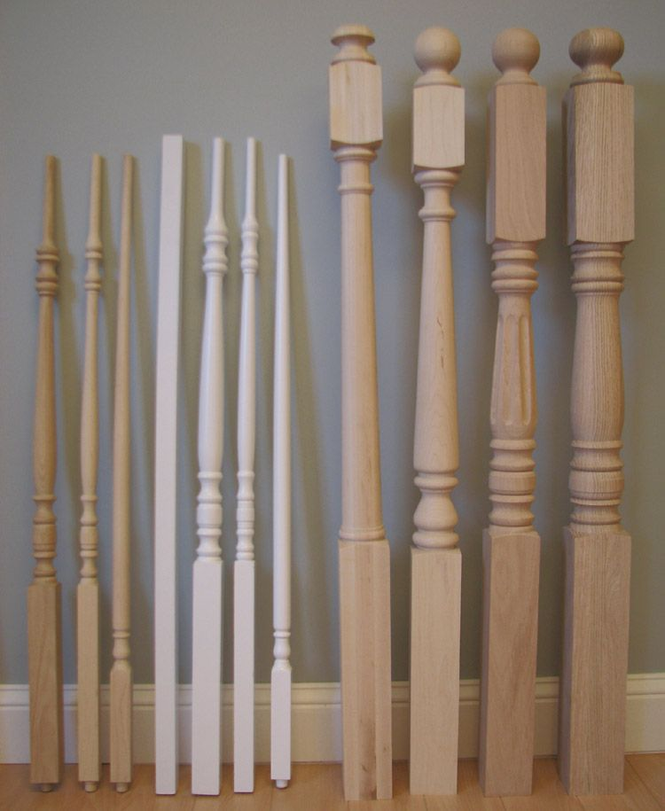 Their Hardwood Balusters