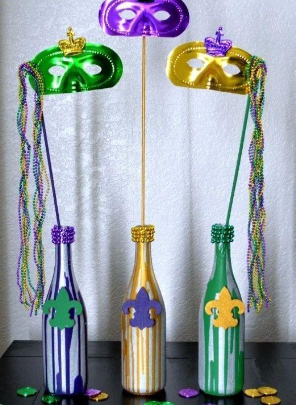 15 Ideias Incríveis para Decoraç u00e3o de Carnaval Casa&Festa carnaval Pinterest Mardi g -> Decoração De Loja Carnaval