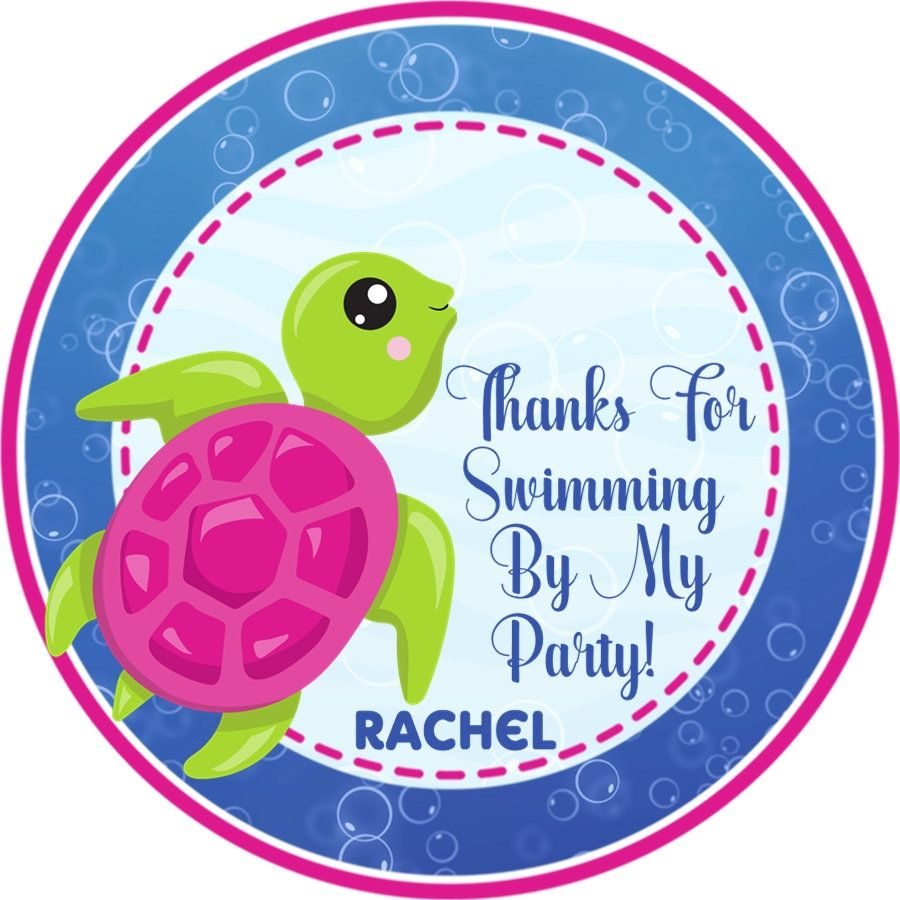 Under The Sea Baby Shower Stickers Under The Sea Baby Shower Decorations Under The Sea Baby Shower Labels For Boys Boys Sea Turtle Under The Sea Baby Shower Favor Tags or Label Stickers