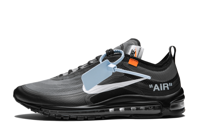 "Best Replica Off White x Nike Air Max 97 ""Black"" AJ4585 001"