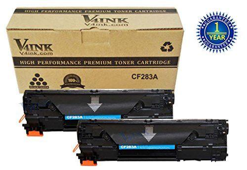 V4ink 2 Pack New Compatible Cf283a 83a Toner Cartridge Black For Laserjet M127fn M127fw Mfp M125nw Mfp M125rnw V4ink Http Toner Cartridge Toner Cartridges
