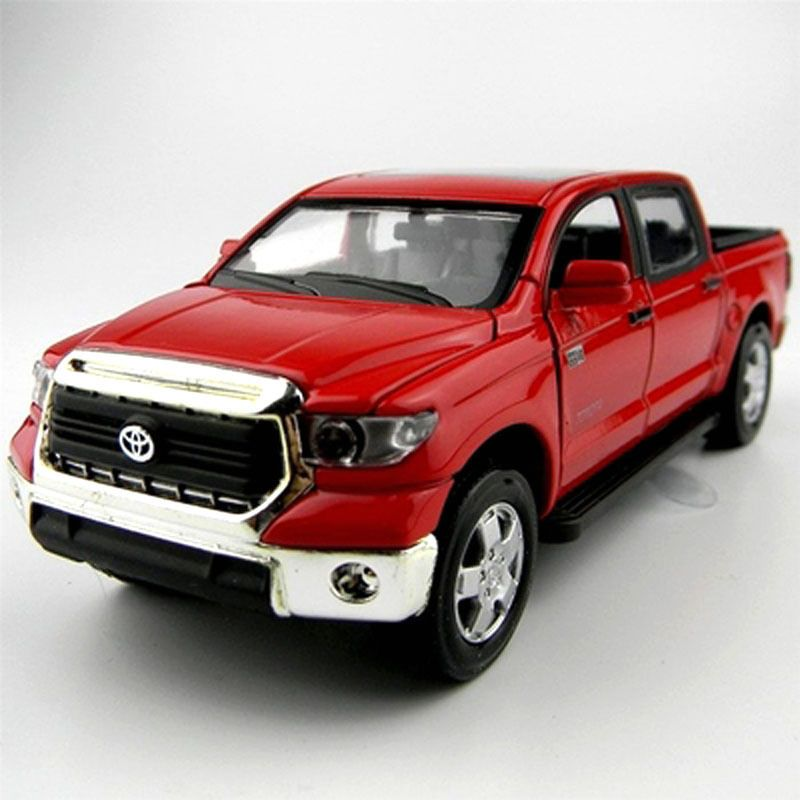 TOYOTA TUNDRA Diecast CAR MODEL RED 1:32 Acousto Optic NEW