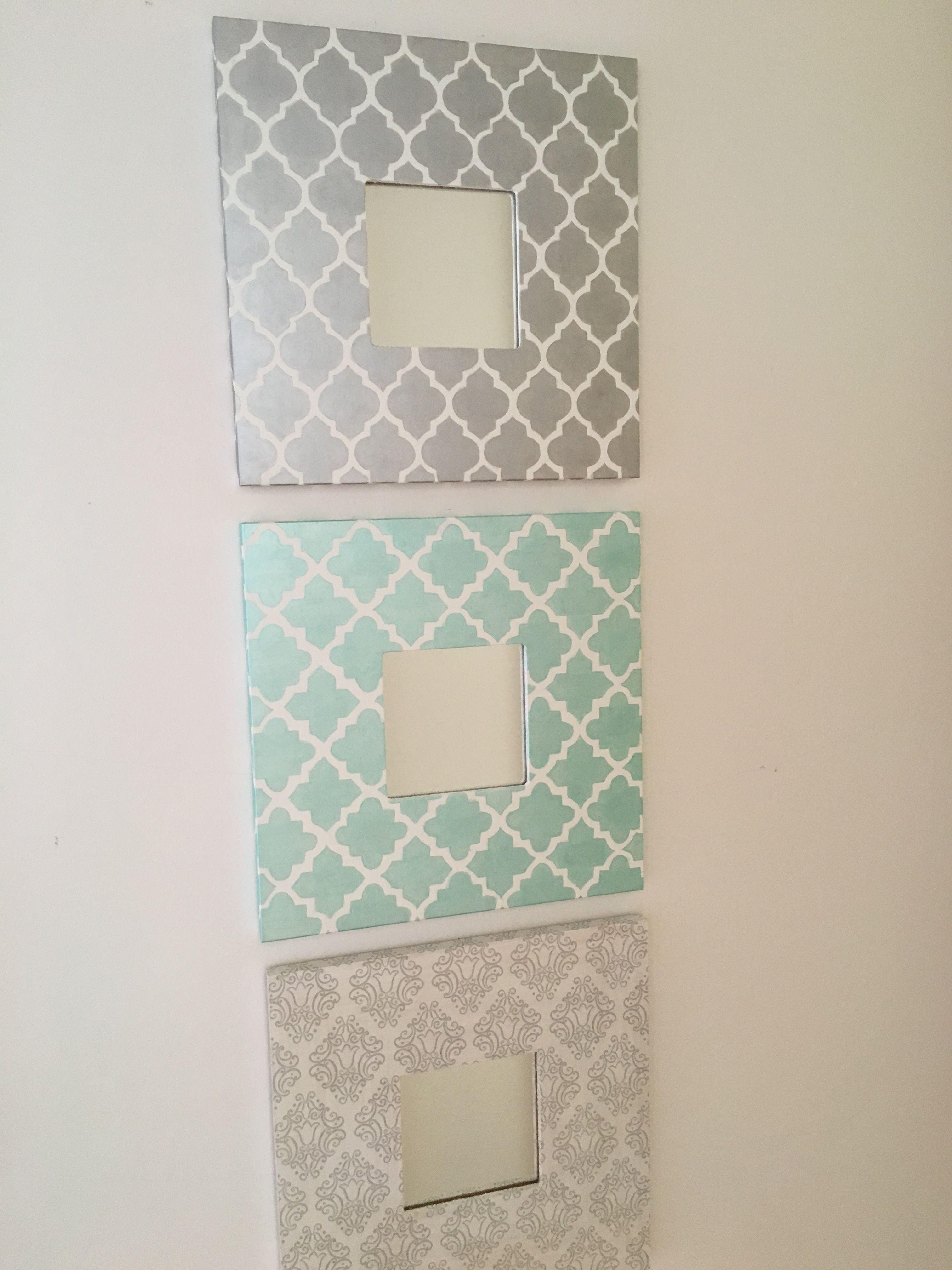layered malma mirrors | home decor | pinterest | ikea hack, ikea