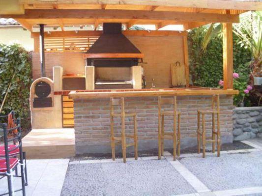 Quinchos y pergolas en madera terraza a tu estilo for Tejabanes para terrazas