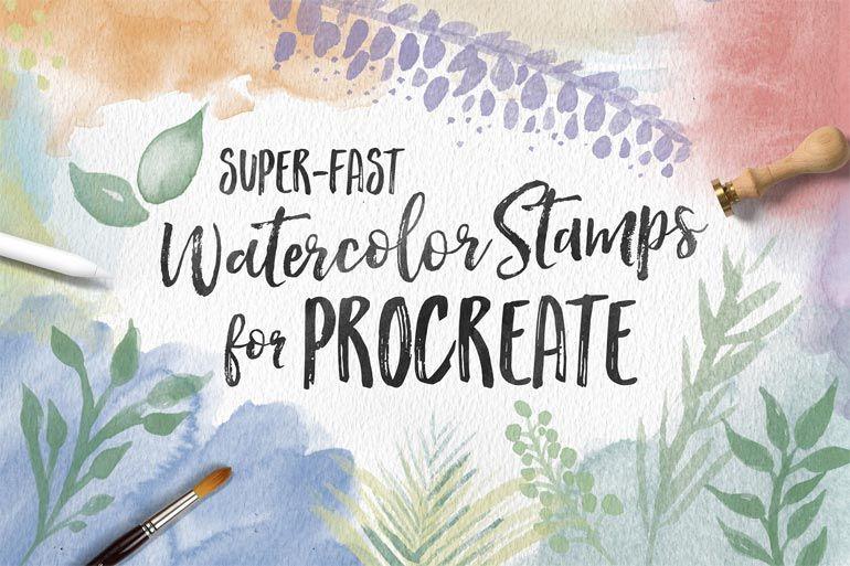 351 Free Procreate Brushes Fresh New Lettering Lettering