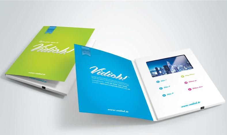 Video Brochure Hd  Binder  Brochure    Brochures