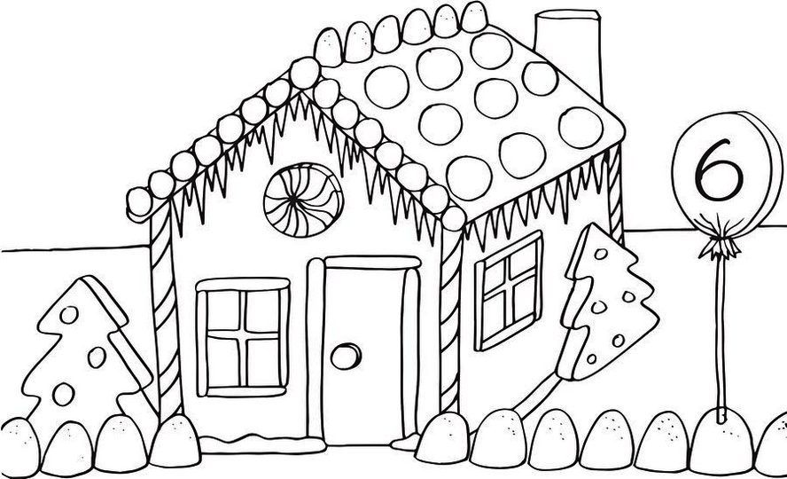 Gingerbread House Coloring Pages Printable Valentines Day Coloring Page House Colouring Pages Christmas Coloring Sheets