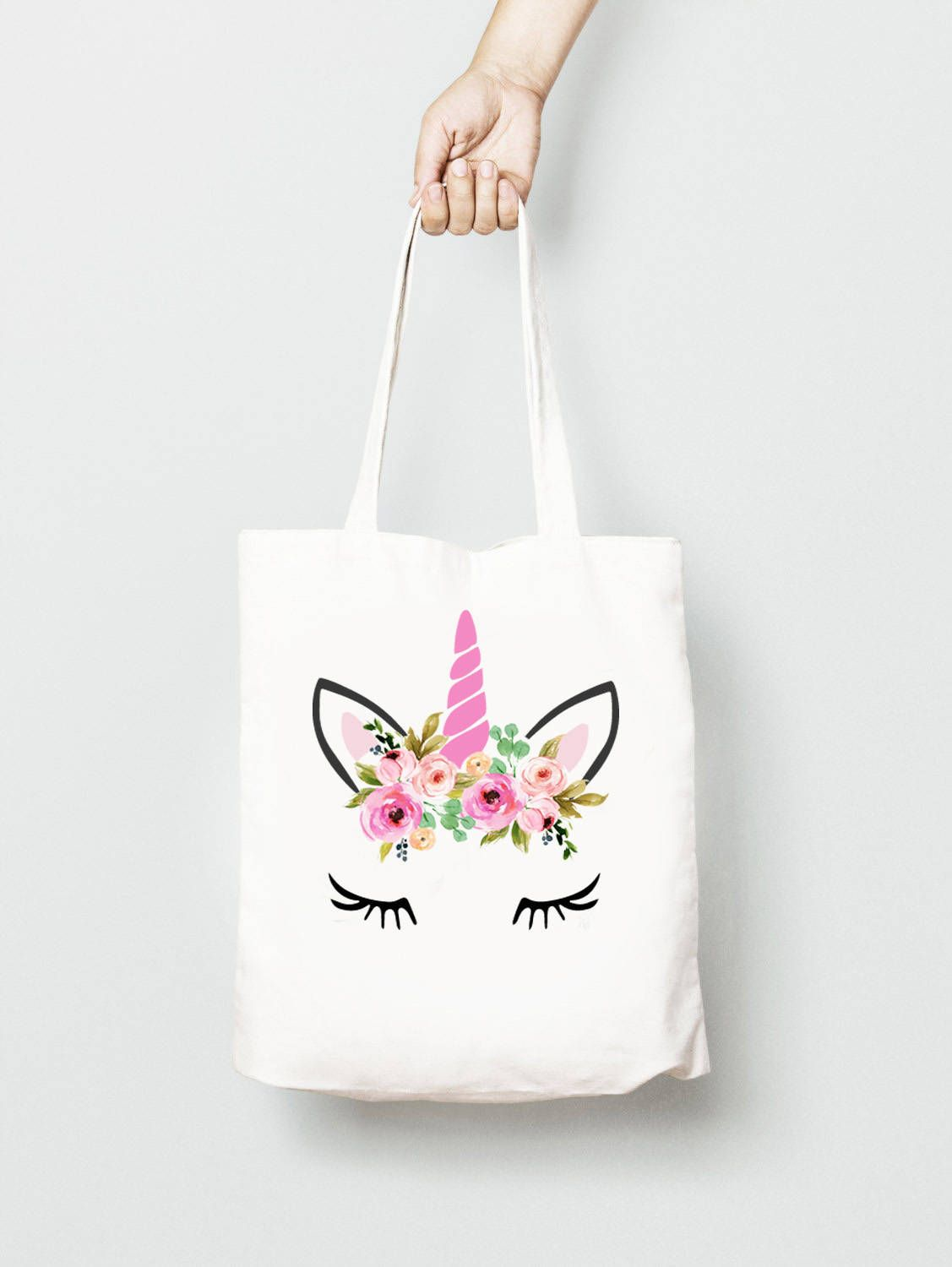 453d0ba5b Unicorn Gifts, Canvas Tote Bags, Cotton Tote Bags, Diy Tote Bag, Summer