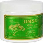 $20.33 - dmso-gel-with-aloe-vera-4-oz - DMSO Gel 70/30 Aloe, Unscented Dimethylsulfoxide (DMSO) is a byproduct of wood processing for papermaking.