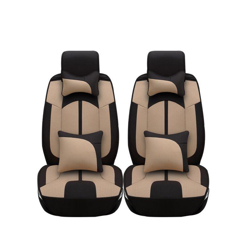 Astonishing Linen Car Seat Covers For Dodge Caliber 2012 2008 Avenger Machost Co Dining Chair Design Ideas Machostcouk