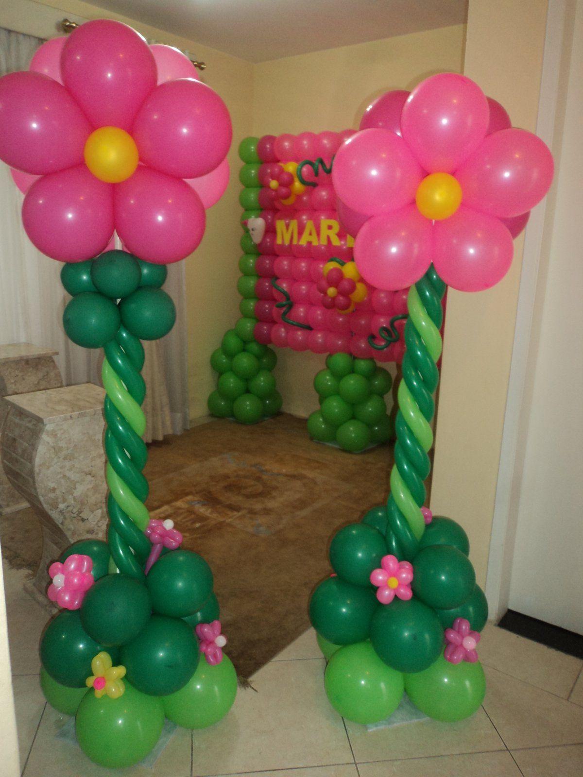 decoração dia das mães com balões - Buscar con Google