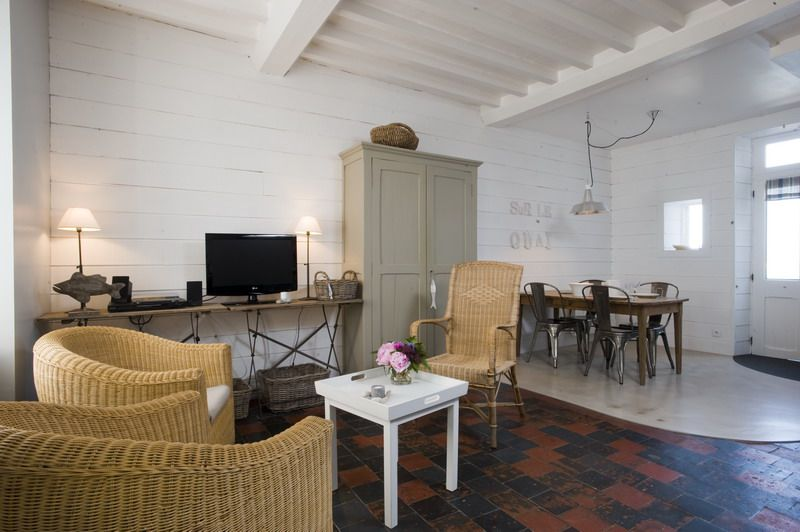 La Maison sur le Quai, gite de charme*** à Port-en-Bessin, Normandie