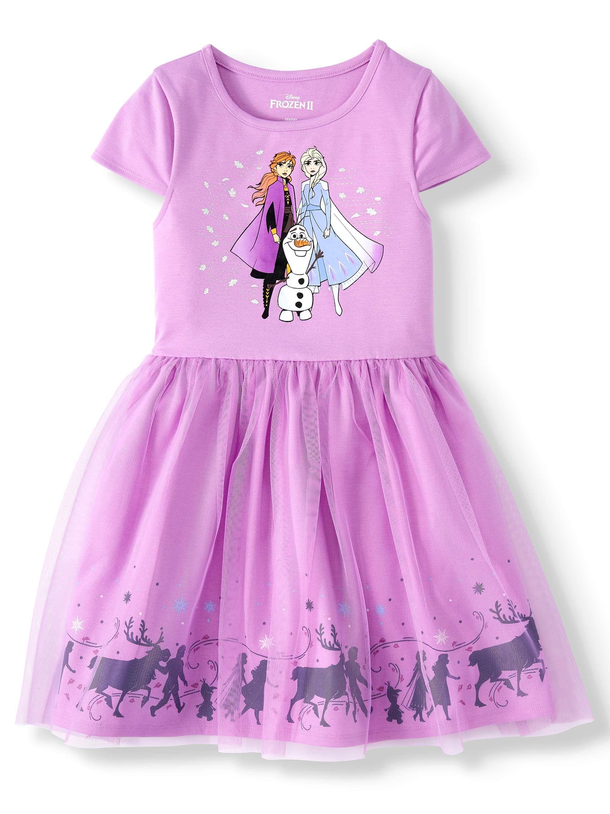 Frozen II Disney Anna Nightgown for Girls Multi