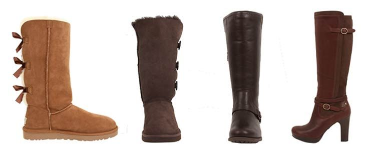 Four Ugg Boots For Wide Calves